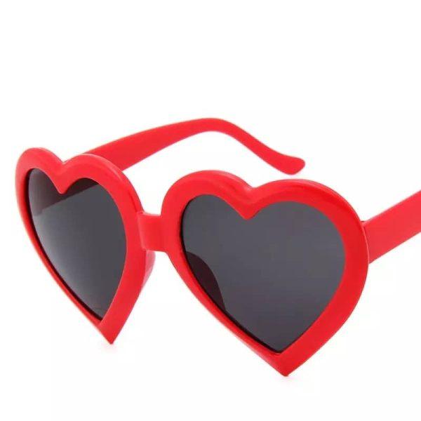 عینک قلبی یک رنگ