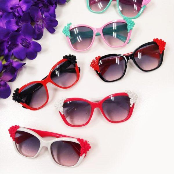 عینک نشکن ♥️مدل کنار حاشیه ♥️ یووی(uv400) مناسب ۲تا۱۰سال